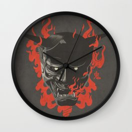 """Onibaba """"Kage Edition"""" Wall Clock"""