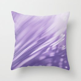 Ultra Violet Palm Tree Pattern| Trendy color of year 2018 Throw Pillow