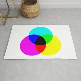 CMYK Color Model Rug