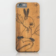 Cute little animal on wood iPhone 6s Slim Case