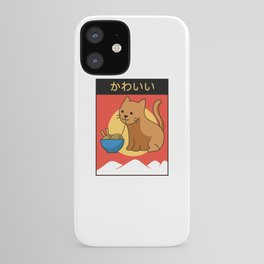 Kawaii Cat Ramen Anime Lover Kitten Lolita iPhone Case