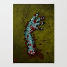 Zombie Arm Canvas Print