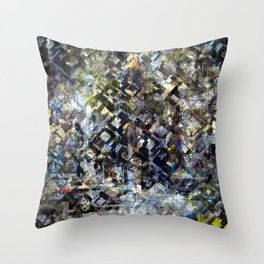 Whenever suddenly crumbled onto that moment often. Throw Pillow