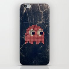 Pac-Man Pink Ghost iPhone & iPod Skin
