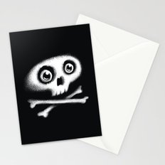 Skull & bones Stationery Cards