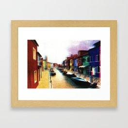 Murano Framed Art Print