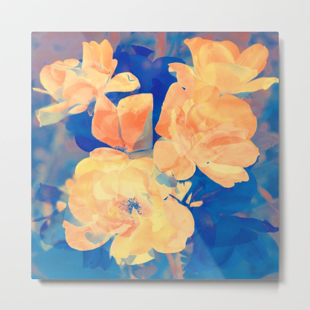 Country Floral Metal Print by Geenamatuson MTP7828205