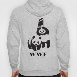 panda wrestling Hoody
