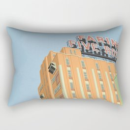 Factory Five roses Rectangular Pillow