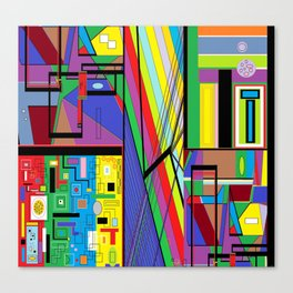 Geometry Abstract Canvas Print