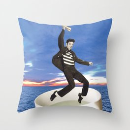 Still Alive Throw Pillow