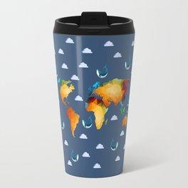 World of Whales Travel Mug