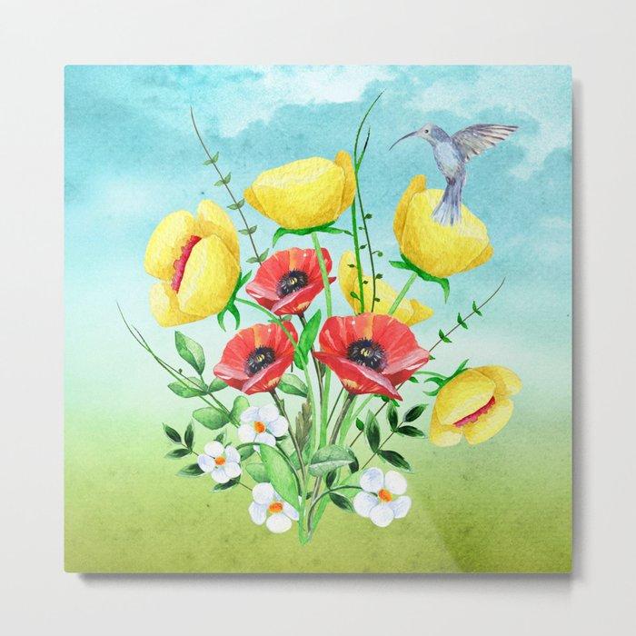 Flowers bouquet #20 Metal Print
