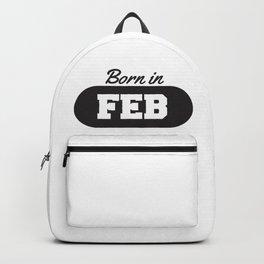 Born in February Backpack