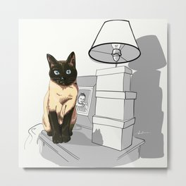 I am siamese if you please Metal Print