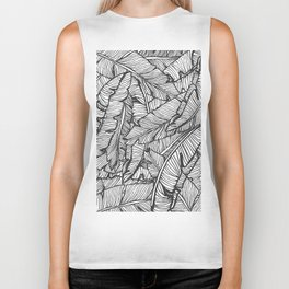 Black & White Jungle #society6 #decor #buyart Biker Tank