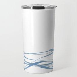 A Bottomless Sea No. 2 Calm Travel Mug