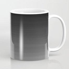 Black and White Haze Abstract Ombre Coffee Mug