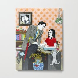 Divorce Papers Metal Print