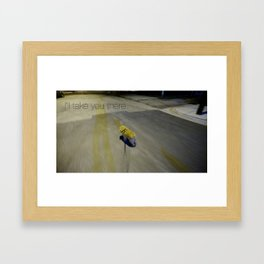 shoop shoop  Framed Art Print
