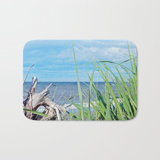 Through Grass and Driftwood Bath Mat