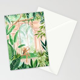 Jungle Swing Stationery Cards