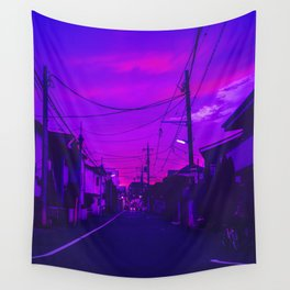 Tokyo Anime Skies Wall Tapestry