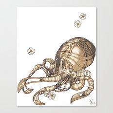 Mechanical Octopus Canvas Print