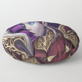 The Bearer of Truth Floor Pillow