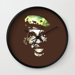 Thomas Sankara Wall Clock