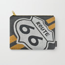 Route 66 sign. Carry-All Pouch