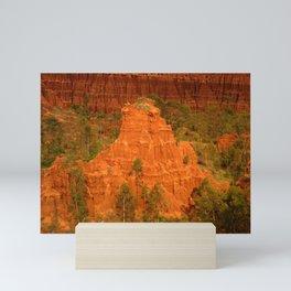 New York Sandstone Cliffs Landscape Konso Ethiopia Africa 5 Mini Art Print