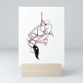 Hang in there Mini Art Print