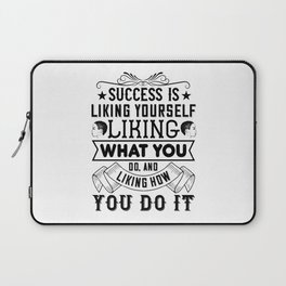 Women Motivation - Success Laptop Sleeve
