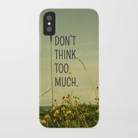 cabin iPhone & iPod Cases featuring Travel Like A Bird Without a Care by Olivia Joy StClaire