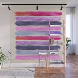 Pink and Pink Wall Mural