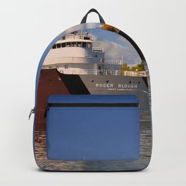 Roger Blough freighter in the Fall Backpack