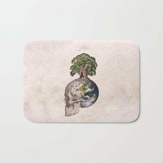 Life (Wandering Through Space) Bath Mat