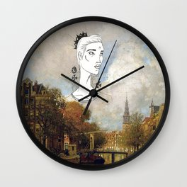 Crown Series Wall Clock