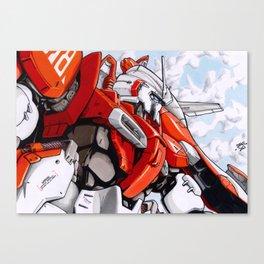 A1 Test Type Canvas Print