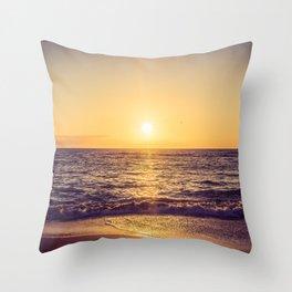 Endless Waves Throw Pillow