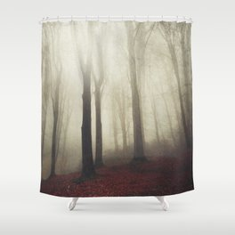 woodland whispers Shower Curtain