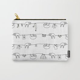 Sloth Laundry Time Carry-All Pouch
