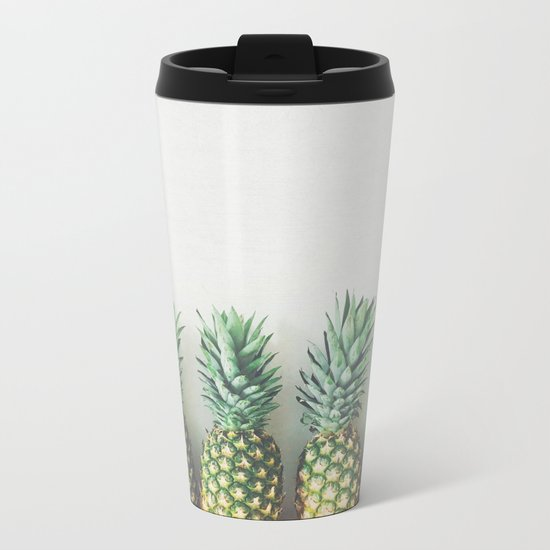 It's All About the Pineapple Metal Travel Mug