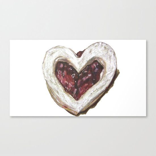 Holiday Love Cookie Canvas Print