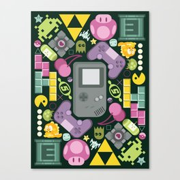 Games People Play Canvas Print