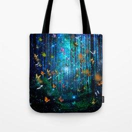 Magical Path Butterflies Tote Bag