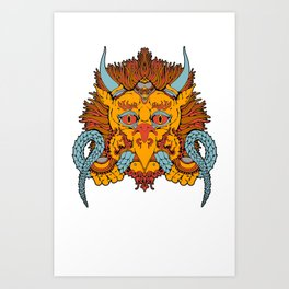 Garuda Art Print