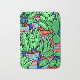 Plants more plants Bath Mat
