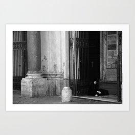 Gypsy, Rome, 2011 Art Print